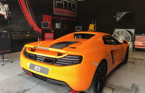 MC LAREN MP4-12C 50th ANNIVERSARY